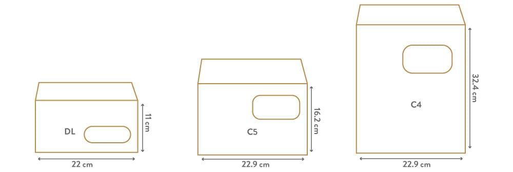 Enveloppes Supports de communication papier mouhtadi design agence de communication Casablanca