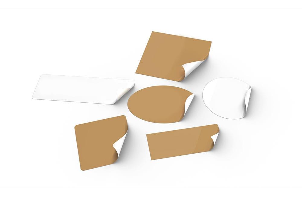 Stickers depliant publicitaire Supports de communication papier mouhtadi design agence de communication Casablanca