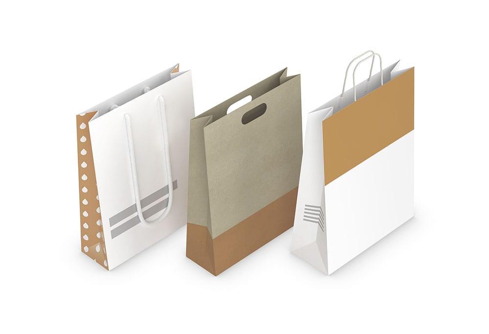 Sac en papier Supports de communication papier mouhtadi design agence de communication Casablanca